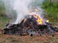 Felhívás az égetés szabályainak betartására
