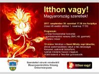 Magyarország szeretlek-Szent Mihály napi tűzgyújtás