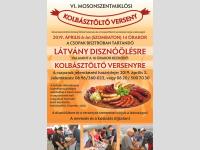 Kolbásztöltő verseny Mosonszentmiklóson