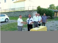 2014. 06. Az új polgárőr autó átadása