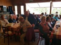 Polgárőr tájékoztató a nyugdíjasoknak