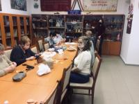 Kézműves délután az Alkotó körrel és a Lébényi Fonó tagjaival 2021. februárban