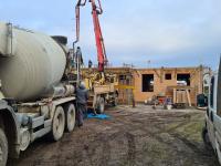 Födém betonozása