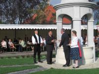 2008. 08. A Zichy tér avatása