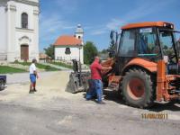 2011. 10. Zichy tér felújítása
